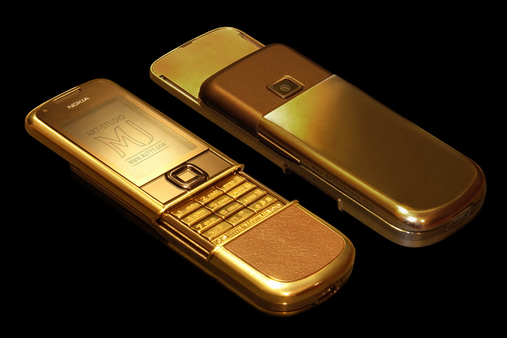 Nokia 8800 Arte Solid Gold 585 MJ Single Copy - Duo B