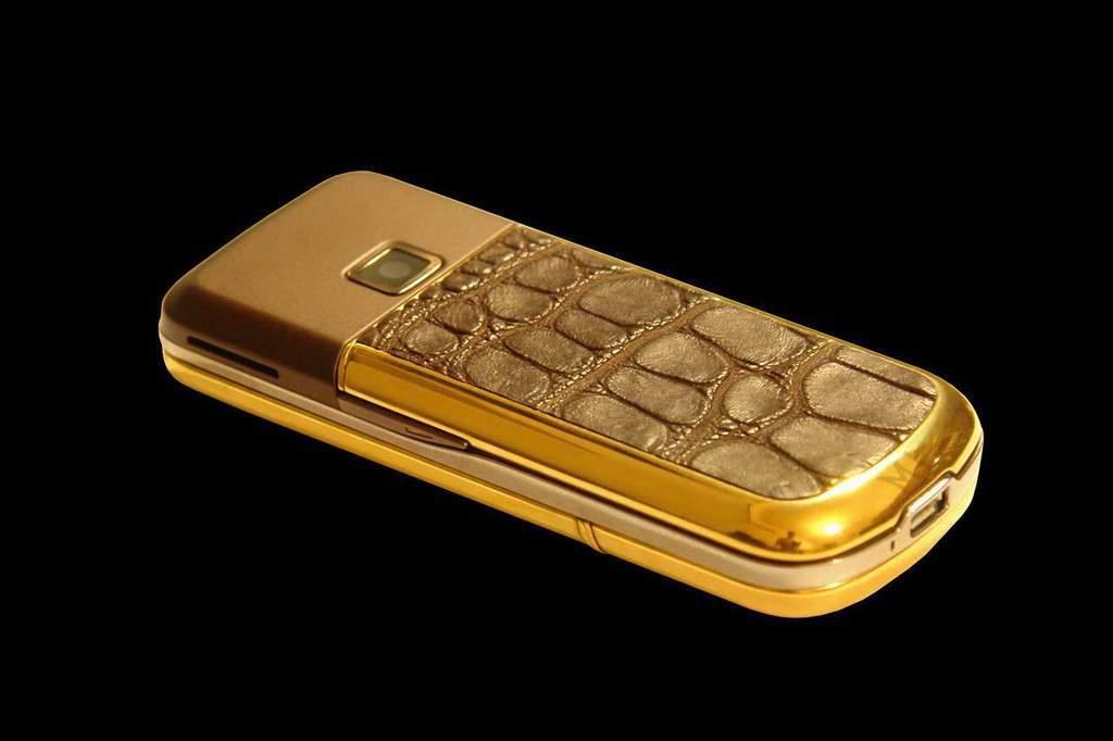 هواتف من الذهب
