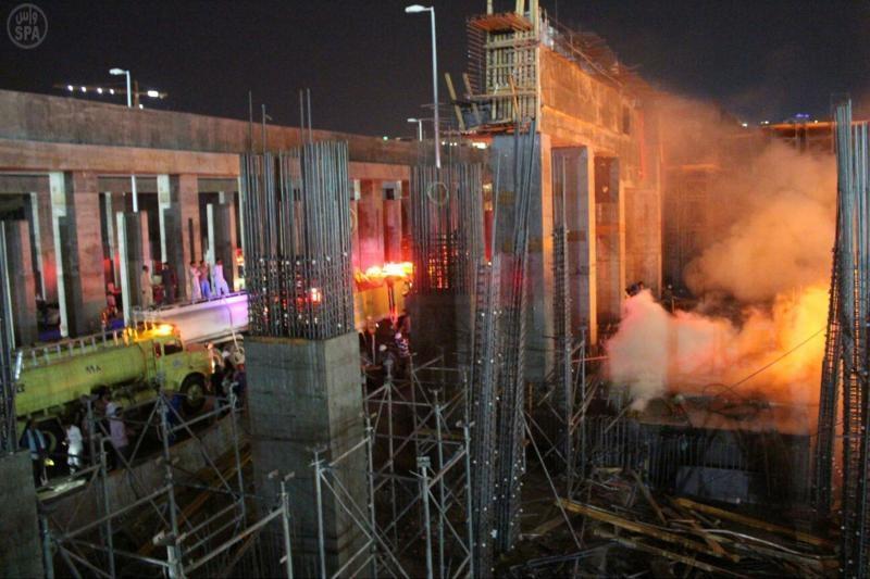 حريق الحرم المكي