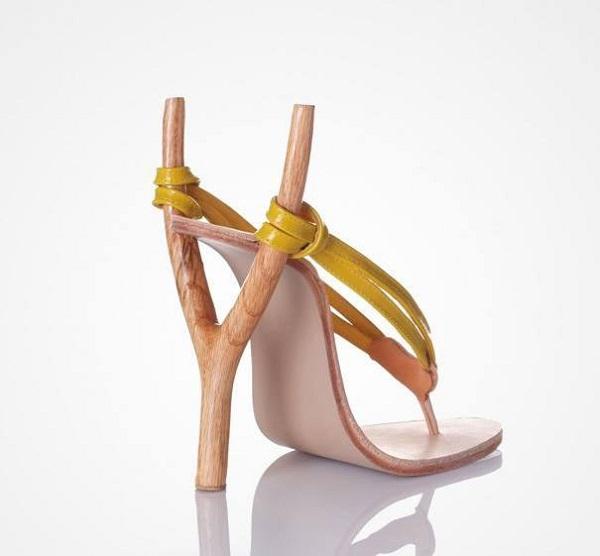 أغرب احذية الكعب العالي  11