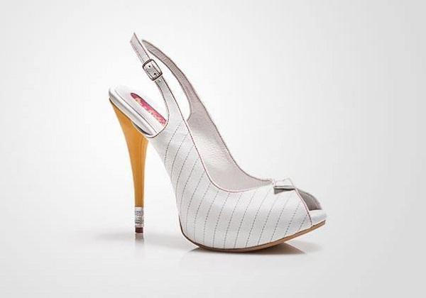 أغرب احذية الكعب العالي  7