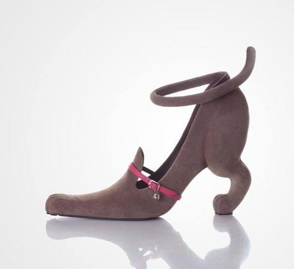 أغرب احذية الكعب العالي  8