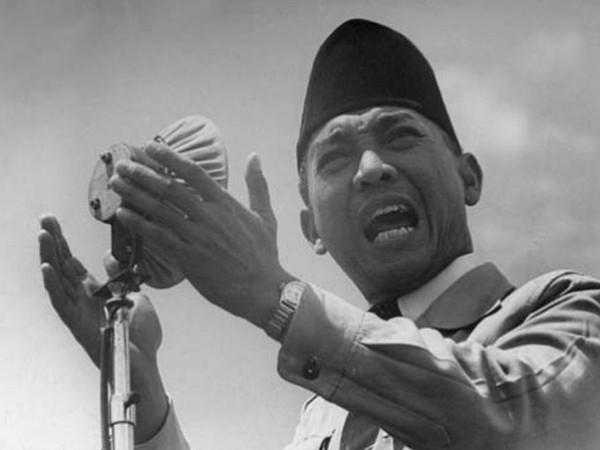 الرئيس الاندونيسي أحمد سوكارنو