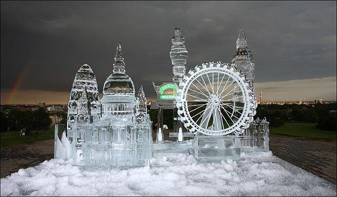المنحوتات الثلجية  10