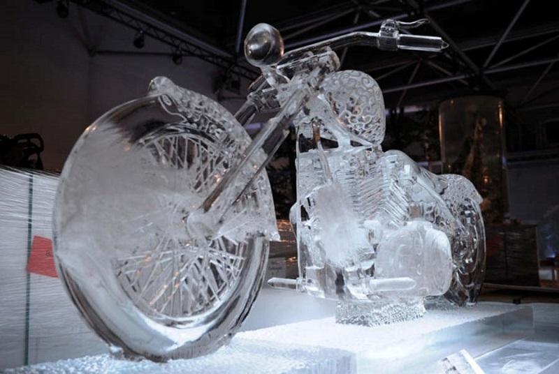المنحوتات الثلجية  2