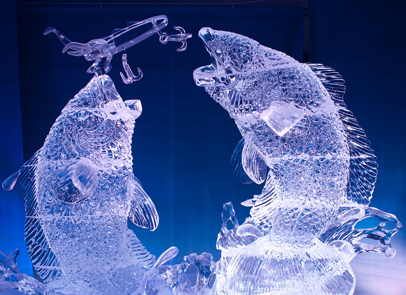 المنحوتات الثلجية  3