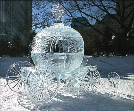 المنحوتات الثلجية  5