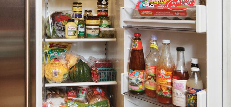 ترتيب الأطعمة بالثلاجة
