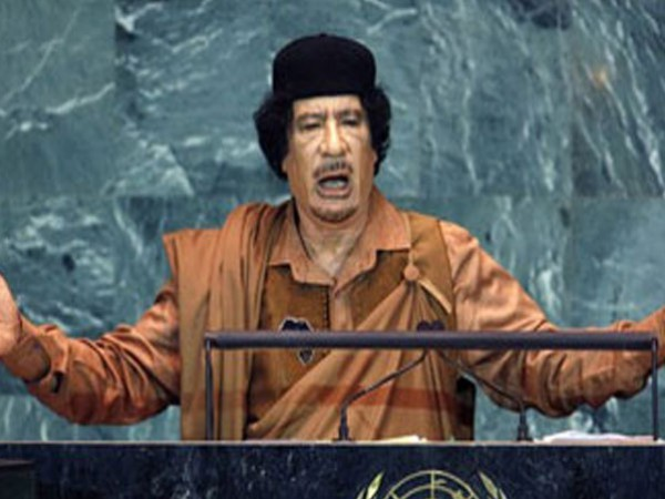 خطاب القذافي الشهير