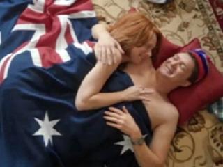 رئيسة وزراء استراليا في وضع فاضح