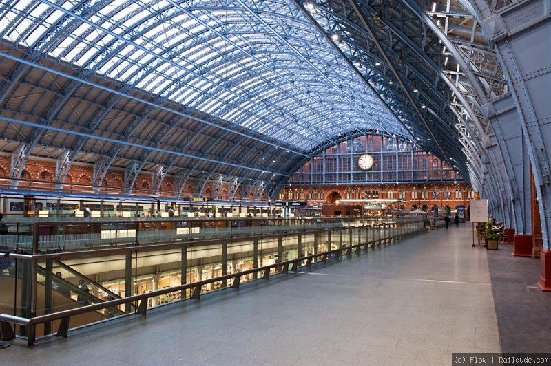 محطة سانت بانكراس في لندن