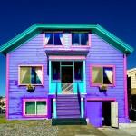 بالصور .. أجمل وأبهج المنازل الملونة في العالم