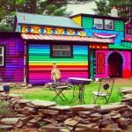 منازل ملونة و مبهجة  22
