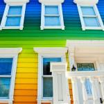 منازل ملونة و مبهجة  3