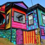 منازل ملونة و مبهجة  4
