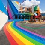 منازل ملونة و مبهجة  5