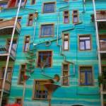 منازل ملونة و مبهجة  6