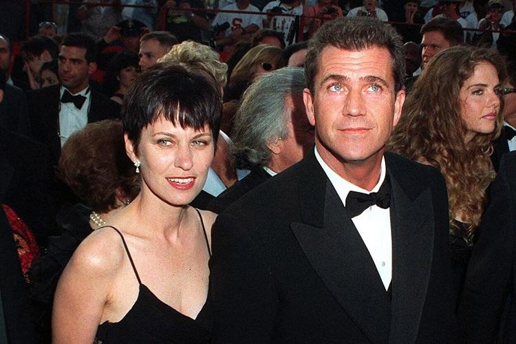ميل جيبسون وزوجته السابقة