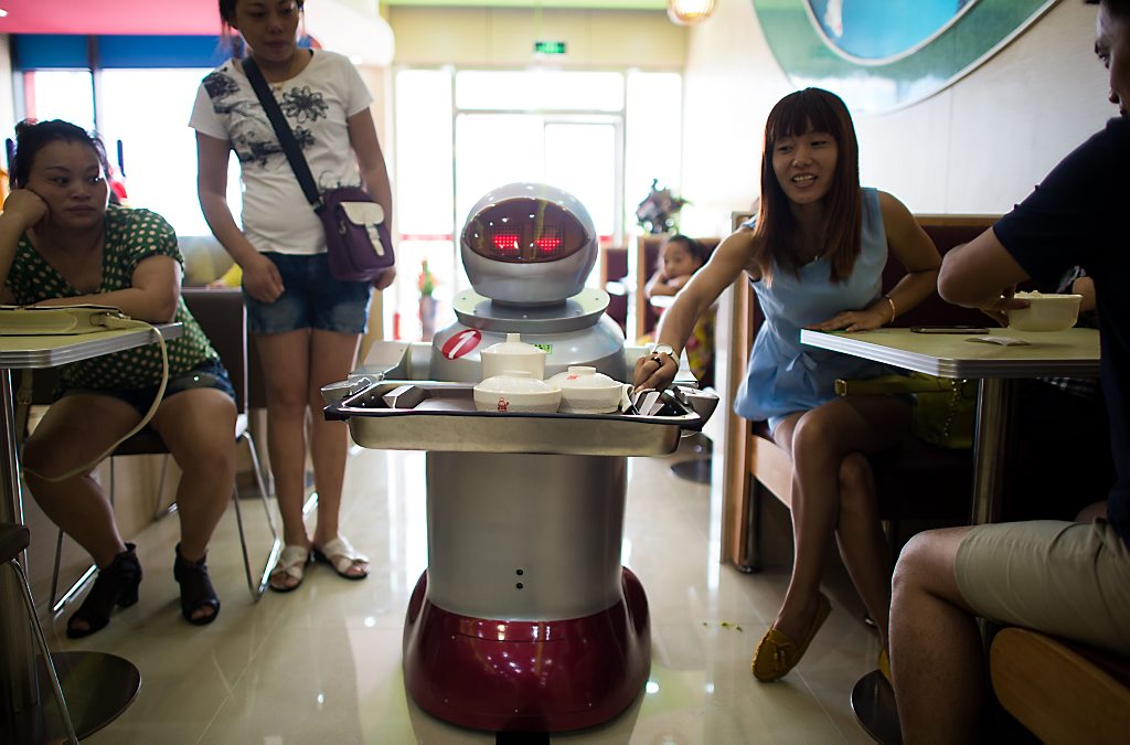 CHINA-LIFESTYLE-FOOD-TECHNOLOGY-OFFBEAT