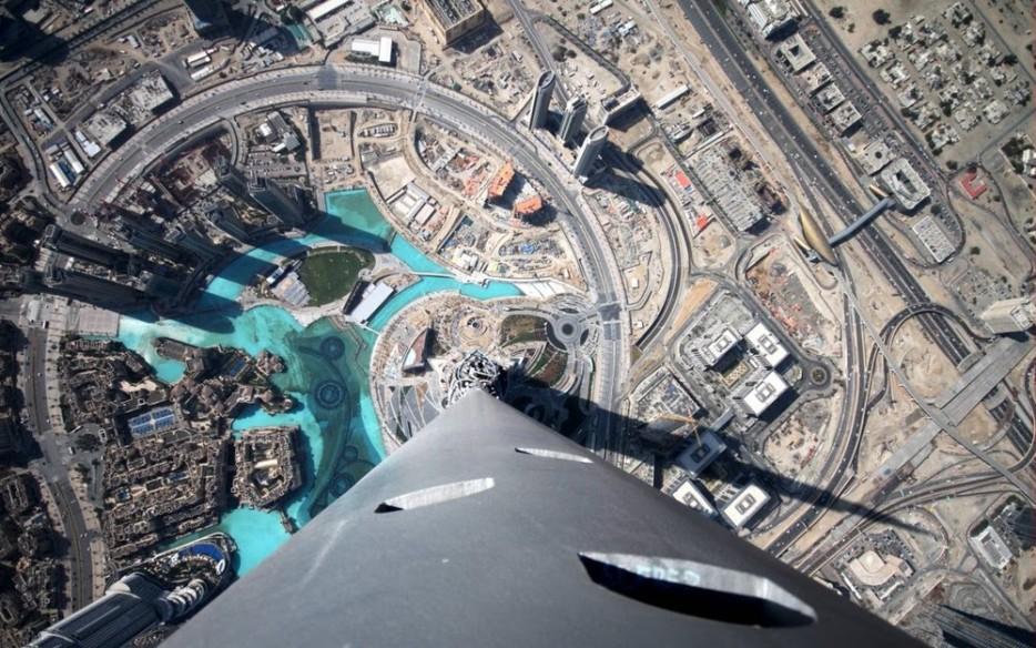 أطول مبنى في العالم، برج خليفة في دبي