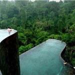 الاستحمام فى قلب الغابة