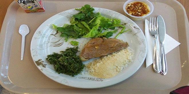 الوجبة الغذائية فى مدارس البرازيل.