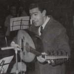 شادية ومنير مراد مع أحمد فؤاد حسن
