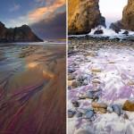 شاطيء فايفر أرجواني الرمال - أستراليا