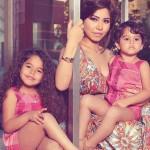 شيرين عبد الوهاب وابنتيها