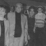 ماجدة الرومي ومحمد منير والأبنودي وزوجته نهال كمال
