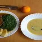 مدارس التشيك تقدم السبانخ واللحم بالثوم
