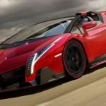 فى المركز الأول السيارة الايطالية لامبورغيني فينينو رودستر و التى يبدأ سعرها من 4.5 مليون دولار