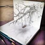 لوحات بالقلم الرصاص