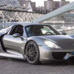 فى المركز الخامس السيارة الألمانية بورش 918 سبايدر التى يبدأ سعرها من 845 ألف دولار