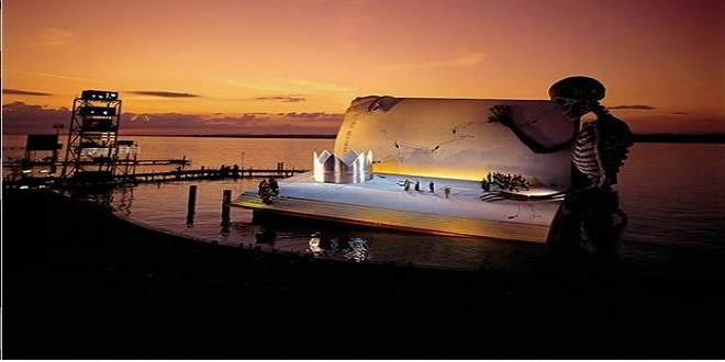 مسرح الأوبرا العائم في أستراليا