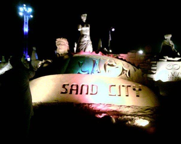 sand city - Lara