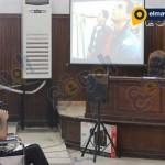 أحمد دومة يشاهد فديو واقعة أحداش مجلس الوزراء