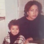 أمل بوشوشة ووالدتها