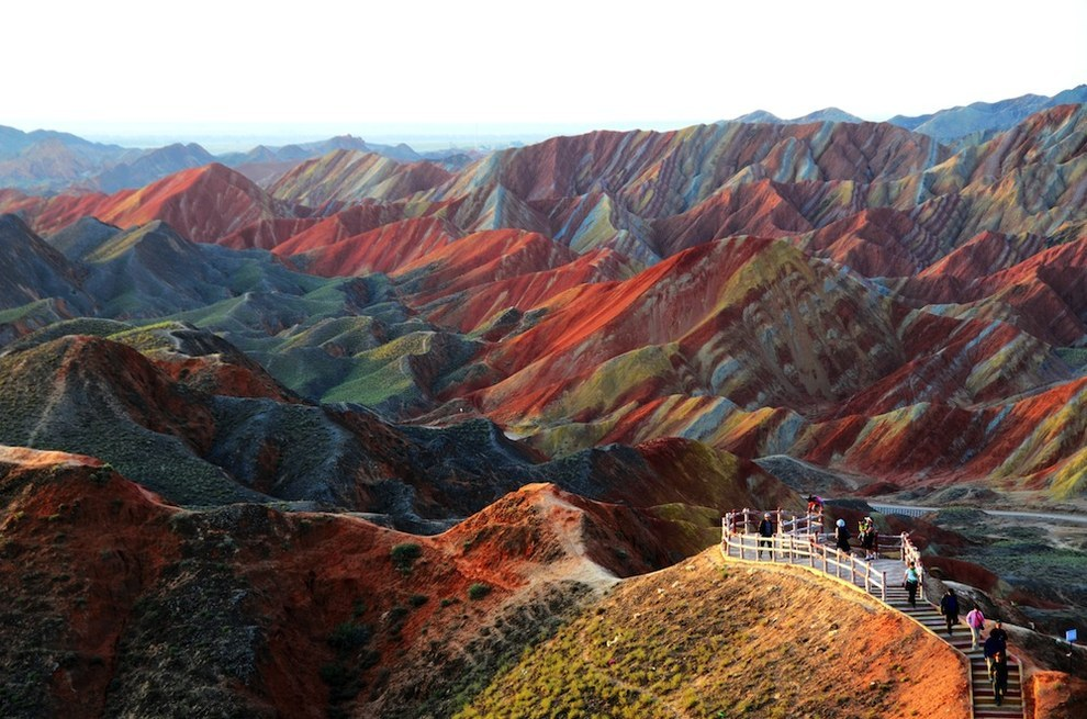 ارض تشانغيه داسك ، الصين