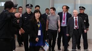 استقبال ميسي في الصين