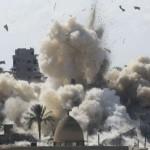 الجيش يبدأفي تدمير المنازل علي الحدود5