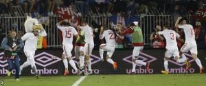 الغاء مباراة صربيا والبانيا5