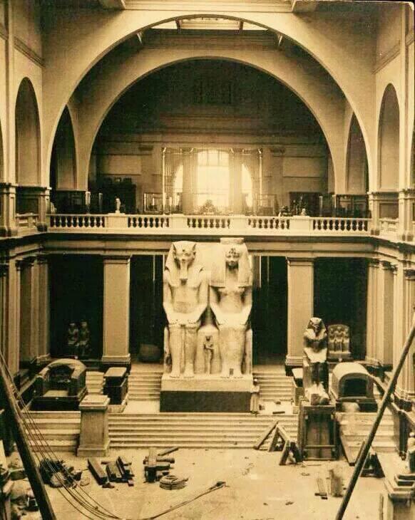 المتحف المصري سنة 1900