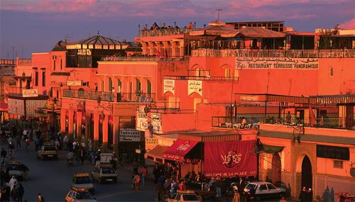 المدينة الحمراء - مراكش