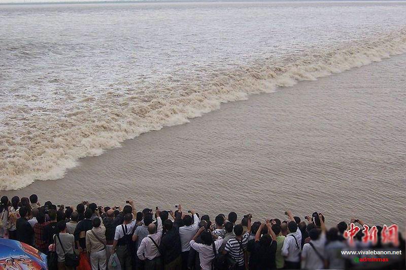 المد والجزر في الصين
