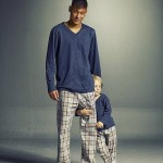 أب وابنه بملابس متشابهة