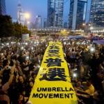 حركة المظلات في هونج كونج