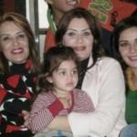 سيرين عبد النور ووالدتها