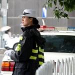 شرطية مرور صينية