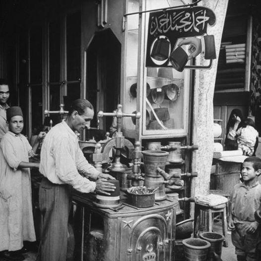 صانع طرابيش - القاهرة 1942